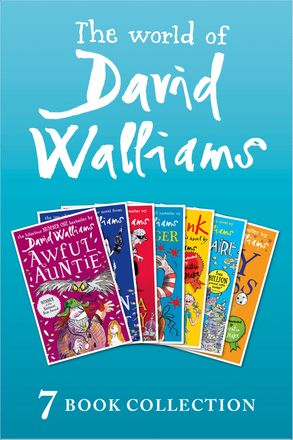 Cover image - The World of David Walliams: 7 Book Collection (The Boy in the Dress, Mr Stink, Billionaire Boy, Gangsta Granny, Ratburger, Demon Dentist, Awful Auntie)