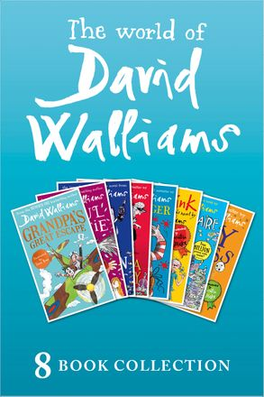 Cover image - The World of David Walliams: 8 Book Collection (The Boy in the Dress, Mr Stink, Billionaire Boy, Gangsta Granny, Ratburger, Demon Dentist, Awful Auntie, Grandpa's Great Escape)