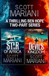 Scott Mariani 2-book Collection: Star of Africa, The Devil's Kingdom (Ben Hope)