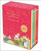 A Year in Brambly Hedge Hardcover  by Jill Barklem