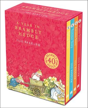 A Year in Brambly Hedge book image
