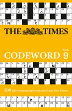 The Times Codeword 9: 200 cracking logic puzzles Paperback  by The Times Mind Games