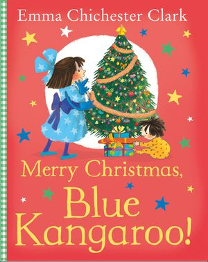 Merry Christmas, Blue Kangaroo! book image