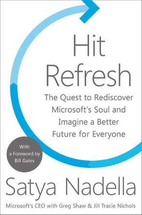 Cover image - Hit Refresh