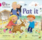 Collins Big Cat Phonics for Letters and Sounds – Pat it: Band 1A/Pink A Paperback  by Charlotte Raby