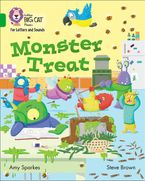 Collins Big Cat Phonics for Letters and Sounds – Monster Treat: Band 5/Green