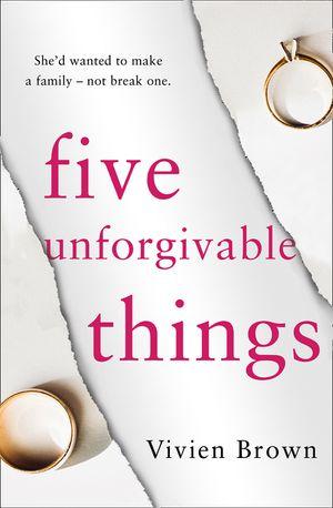 Five Unforgivable Things book image
