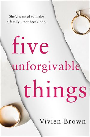Five Unforgivable Things book image