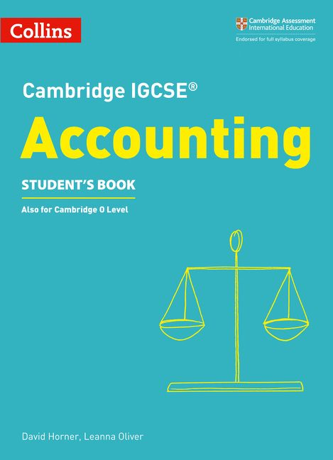 Cambridge IGCSE Accounting Student S Book Collins