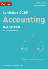 Cambridge IGCSE® Accounting Teacher's Guide (Cambridge International Examinations)