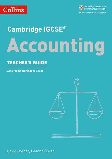 Cambridge IGCSE Accounting Teacher S Guide Collins