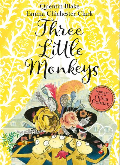 Three Little Monkeys [Book and CD]