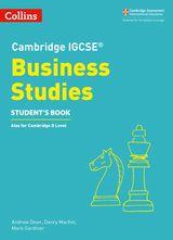 Cambridge IGCSE® Business Studies Student's Book (Cambridge International Examinations)