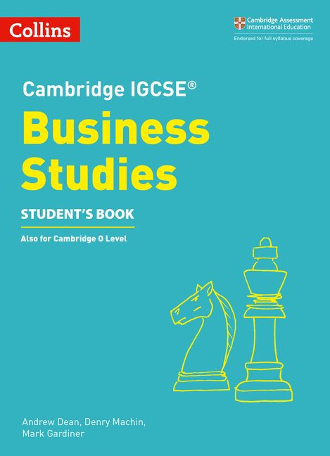 Cambridge IGCSE and O Level Business Studies 5th edition ...