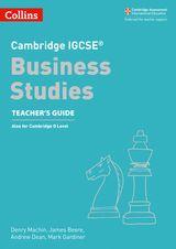 Cambridge IGCSE® Business Studies Teacher's Guide (Cambridge International Examinations)