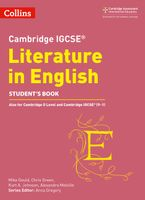 Cambridge IGCSE™ Literature in English Student's Book (Collins Cambridge IGCSE™) Paperback  by Anna Gregory