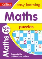 Maths Puzzles Ages 7-8: KS2 Home Learning and School Resources from the Publisher of Revision Practice Guides, Workbooks, and Activities. (Collins Easy Learning KS2) Paperback  by Collins Easy Learning