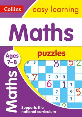 Maths Puzzles Ages 7-8: Prepare for school with easy home learning (Collins Easy Learning KS2)