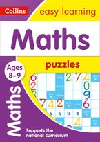Maths Puzzles Ages 8-9 (Collins Easy Learning KS2) Paperback  by Collins Easy Learning