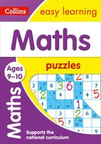 Maths Puzzles Ages 9-10: Prepare for school with easy home learning (Collins Easy Learning KS2) Paperback  by Collins Easy Learning