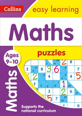 Maths Puzzles Ages 9-10: Prepare for school with easy home learning (Collins Easy Learning KS2)