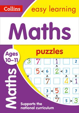 Maths Puzzles Ages 10-11: Prepare for school with easy home learning (Collins Easy Learning KS2)