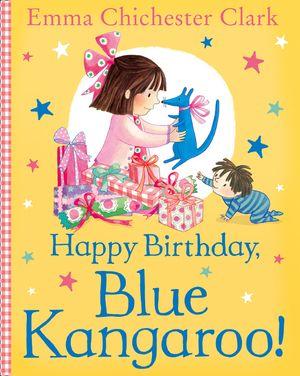 Happy Birthday, Blue Kangaroo! book image