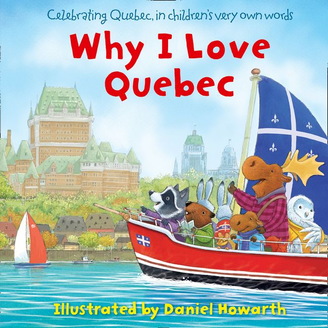Book Cover Craft Quebec : Why i love quebec e book