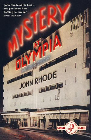 Mystery at Olympia book image