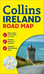 Ireland Road Map Sheet map, folded  by Collins Maps