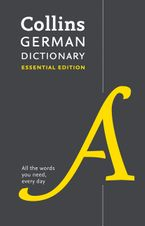 Collins German Essential Dictionary Paperback  by Collins Dictionaries