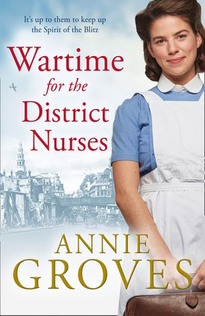 Wartime for the District Nurses (The District Nurse, Book 2) book image