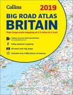 2019 Collins Big Road Atlas Britain Paperback NED by Collins Maps