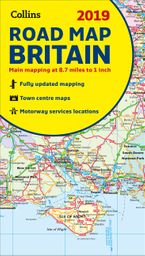 2019 Collins Map of Britain Sheet map, folded NED by Collins Maps