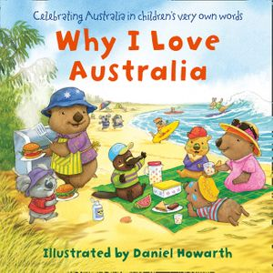 Why I Love Australia book image