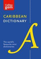 Collins Caribbean Dictionary Gem Edition (Collins Gem) Paperback  by Collins Dictionaries