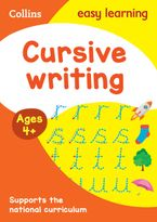 Cursive Writing Ages 4-5: Prepare for school with easy home learning (Collins Easy Learning Preschool) Paperback  by Collins Easy Learning