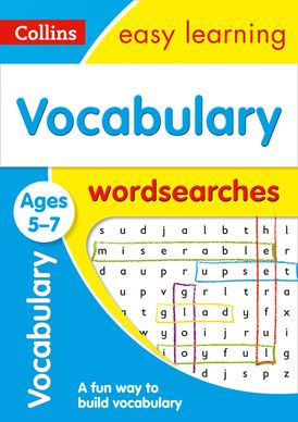 Vocabulary Word Searches Ages 5-7 (Collins Easy Learning KS1)
