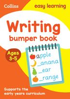 Writing Bumper Book Ages 3-5 (Collins Easy Learning Preschool) Paperback  by Collins Easy Learning
