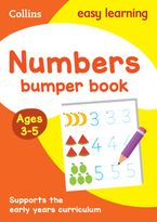 Numbers Bumper Book Ages 3-5 (Collins Easy Learning Preschool) Paperback  by Collins Easy Learning