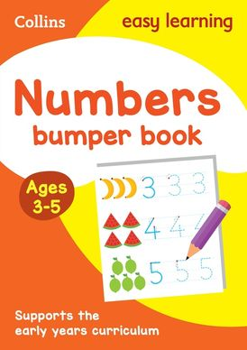 Numbers Bumper Book Ages 3-5 (Collins Easy Learning Preschool)