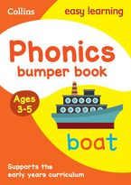 Phonics Bumper Book Ages 3-5 (Collins Easy Learning Preschool) Paperback  by Collins Easy Learning