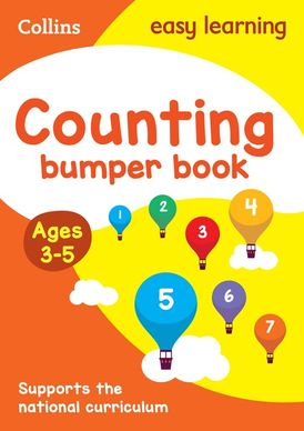Counting Bumper Book Ages 3-5: Prepare for Preschool with easy home learning (Collins Easy Learning Preschool)