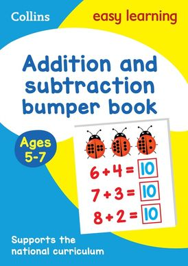 Addition and Subtraction Bumper Book Ages 5-7 (Collins Easy Learning KS1)