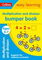 Multiplication and Division Bumper Book Ages 5-7: Prepare for school with easy home learning (Collins Easy Learning KS1) Paperback  by Collins Easy Learning