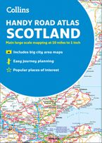 Collins Handy Road Atlas Scotland Paperback NED by Collins Maps