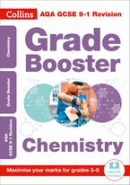 AQA GCSE 9-1 Chemistry Grade Booster for grades 3-9 (Collins GCSE 9-1 Revision) Paperback  by Collins GCSE