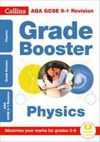 AQA GCSE 9-1 Physics Grade Booster (Grades 3-9): Ideal for home learning, 2021 assessments and 2022 exams (Collins GCSE Grade 9-1 Revision) Paperback  by Collins GCSE