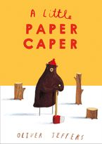 A Little Paper Caper Board book  by Oliver Jeffers