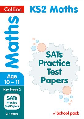 KS2 Maths SATs Practice Test Papers (School pack): 2018 tests shrink-wrapped school pack (Collins KS2 SATs Practice)